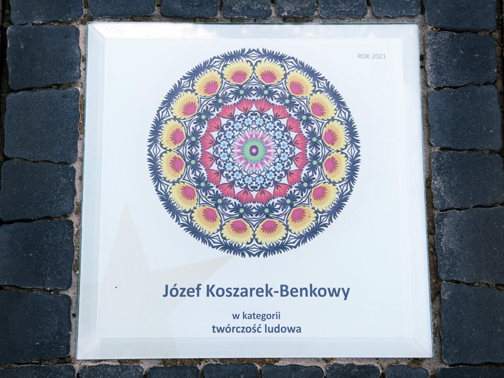 """""""Gwiozda Łowicko"""" dla Józefa Koszarka-Benkowego"""