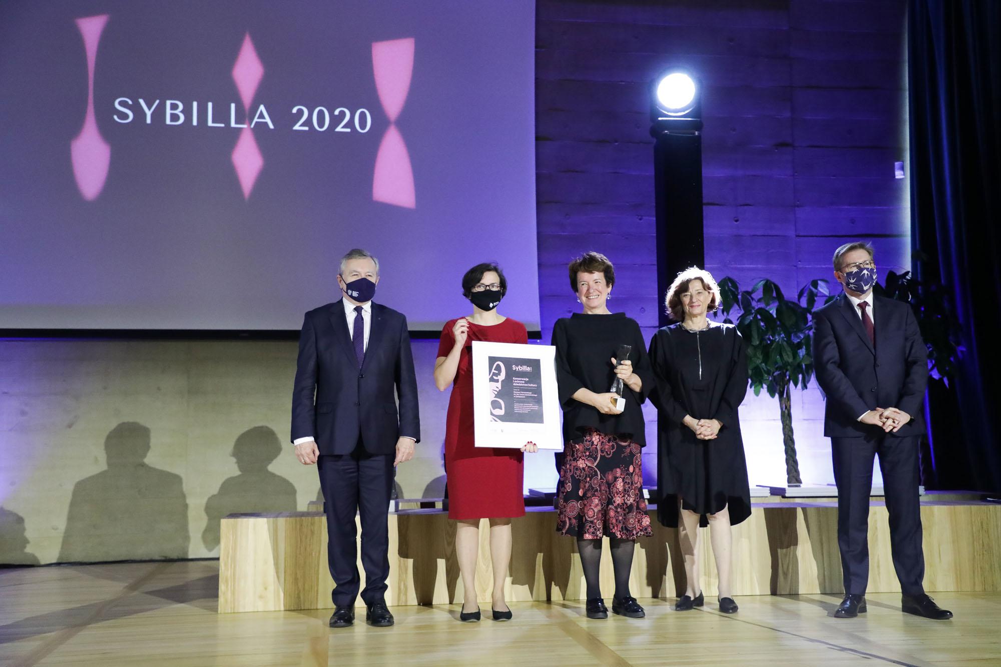 Sybilla 2020 dla Muzeum Tatrzańskiego. Podziękowania