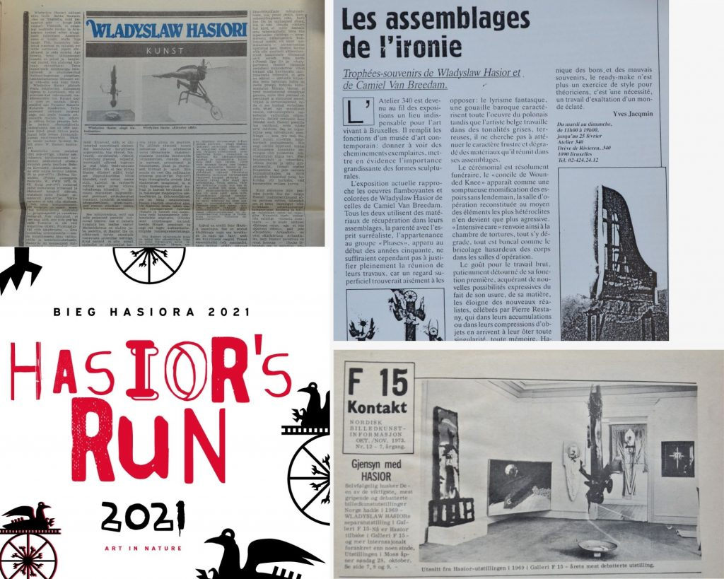 Newspapers about Hasior